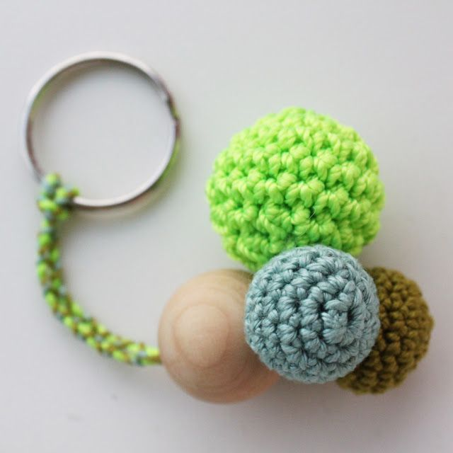 Crochet Keychain : crocheted keychain Crochet Accessory Pinterest
