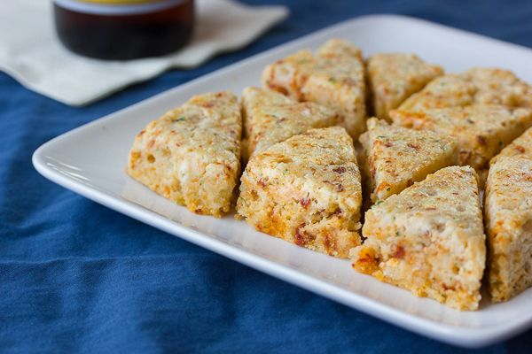 Sun-dried Tomato & Goat Cheese Scones | Breads, Muffins, Pastries, br ...
