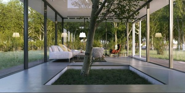 Living rooms with indoor tree homemydesign pinterest