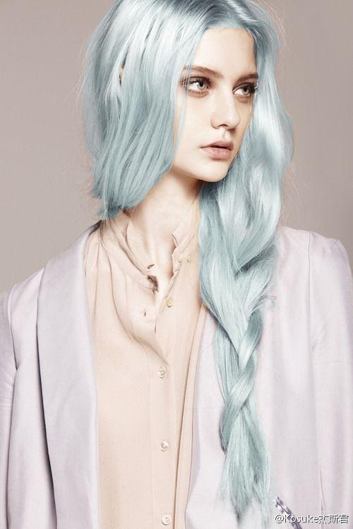 light blue hair | HAIR CUT | Pinterest
