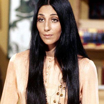 Cher | Long, Straight, and Ultra-70s Hair [via paulmitchell.edu]