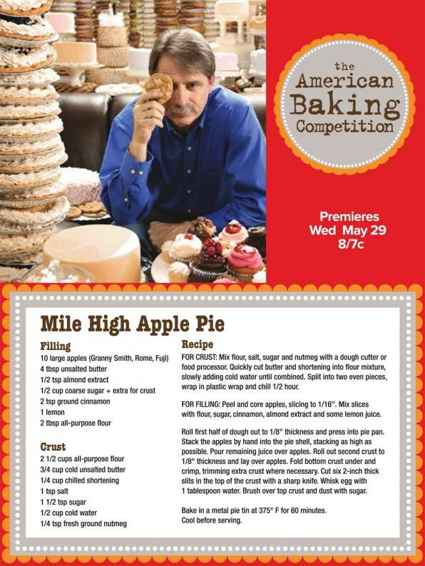 Mile High Apple Pie | Thanksgiving | Pinterest