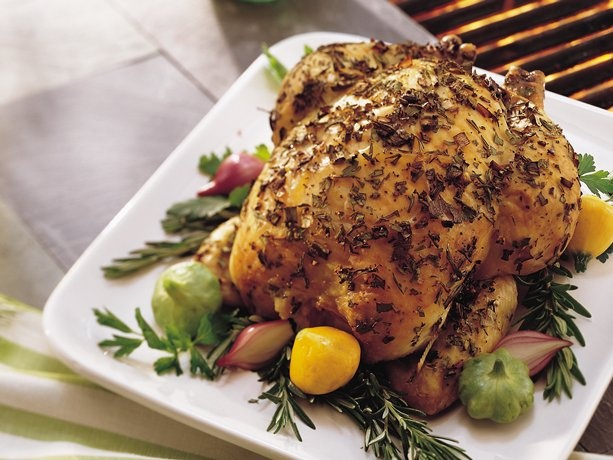 Recipe to try: Grilled Whole Chicken with Herbs. Courtesy: Betty ...
