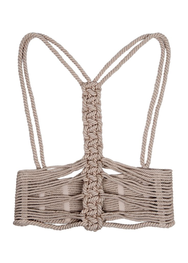 Amanda Wakeley Korusetto Rope Corset Harness Belt