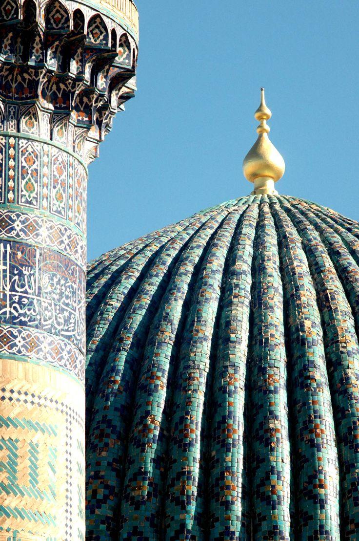 Cupulas de Samarkanda
