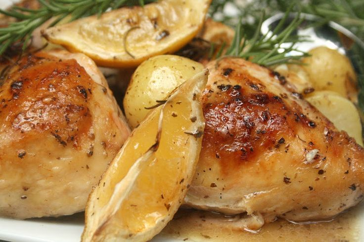 Lemon and Rosemary Roast Chicken | Favorite Recipes | Pinterest