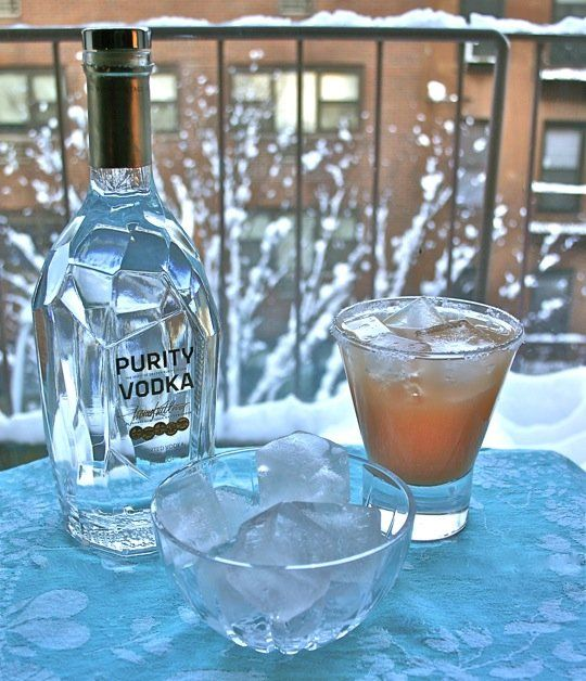 Cocktail for a Snowy Day: The Salty Dog — Straight Up Cocktails ...