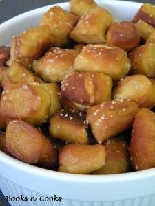 Pepper Jack Stuffed Pretzel Bites Recipe — Dishmaps