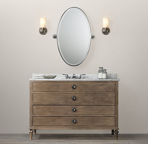 Maison Extra-Wide Single Vanity Sink Extra-Wide SIngle Restoration ...