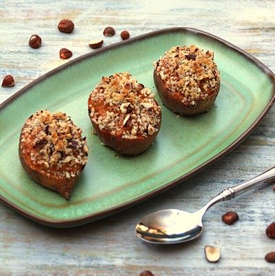 Twice Baked Bourbon Hazelnut Sweet Potatoes — A Spicy Perspective