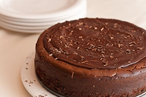 Dark Chocolate Cheesecake - Made for a party & got a lot of great ...