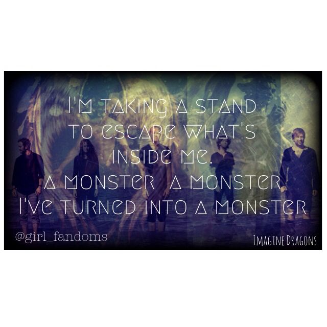 Monster Imagine Dragons Quotes. QuotesGram