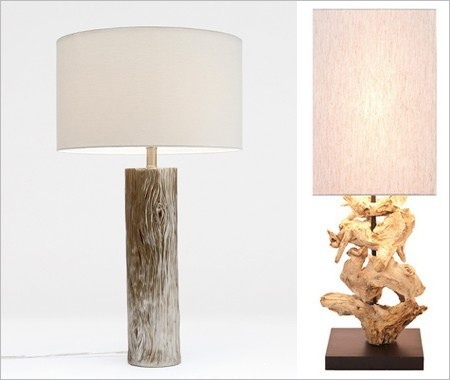 Nature Inspired Lamps Around The House Pinterest