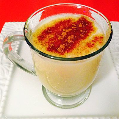 Skinny Eggnog and other healthy mods of warm winter drinks
