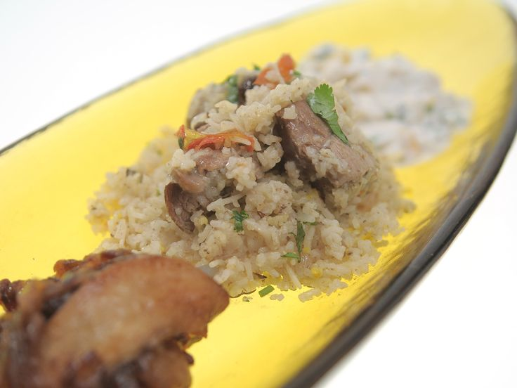 Aarti Sequeira's Braised Leg of Lamb with Caraway Basmati Rice from ...