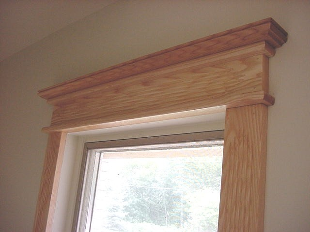 Crown molding window trim decorating ideas pinterest for Window molding ideas