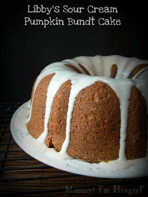 MIH Product Reviews & Giveaways: Libby's Sour Cream Pumpkin Bundt Cake