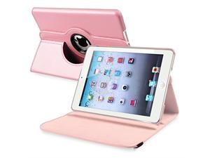 iPad Mini 360-degree Swivel Leather Light Pink Case