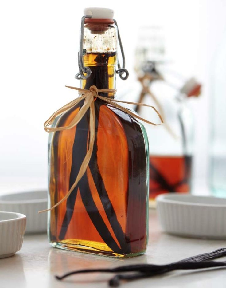 Homemade Vanilla Extract | Homemade in the Kitchen | Pinterest