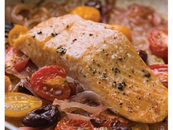... salmon in foil mediterranean salmon baked in foil mediterranean
