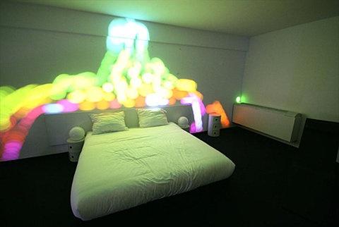 interior bedroom light neon dream home pinterest
