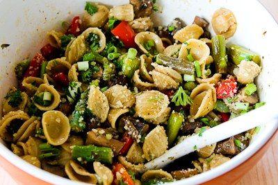 ®: Whole Wheat Orecchiette Pasta Salad Recipe with Roasted Asparagus ...