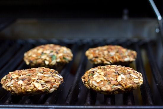Oh She Glows - Our Perfect Veggie Burger | Cafe` | Pinterest