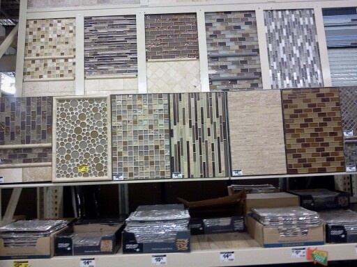 Home depot tile samples for backsplash