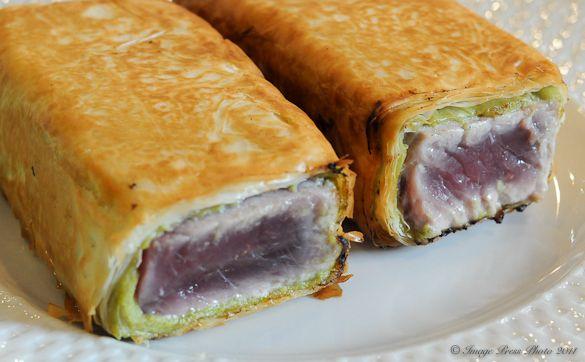 Crisp Wasabi Tuna | Recipe