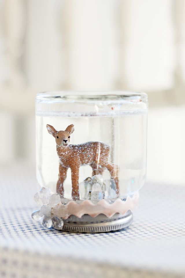Diy handmade jar snow globe kidsdinge loves creative kids stuff