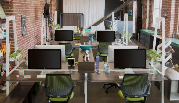 Open concept office cool workplace ideas pinterest for Office design open concept