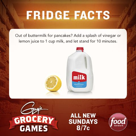 Keep this #GroceryGames tip in mind when planning a last-minute brunch. Tune in this Sunday at 8|7c for the premiere!