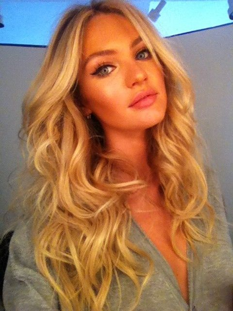 Candice Swanepoel. Hair