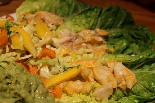 Summery and Delicious Fish Taco Lettuce Wraps with Cabbage Slaw
