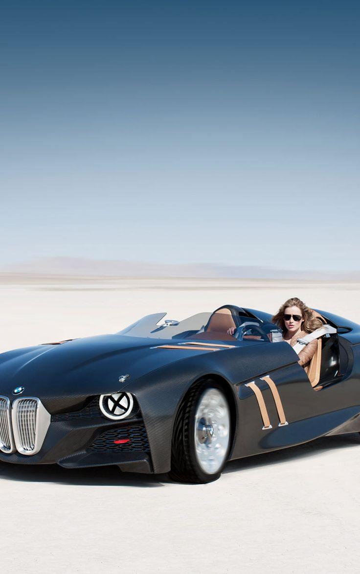 Negro con clase del coche BMW 328 Hommage