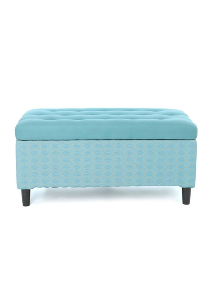 Home Style 37 Aqua Tufted Storage Bench My Style Pinterest