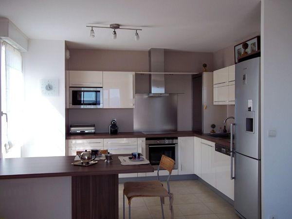 La cuisine ouverte de bernard home pinterest - Peinture salon cuisine ouverte ...