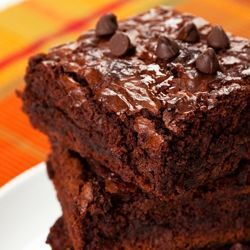Gluten Free Dark Chocolate Brownies - simple, organic and gluten free ...