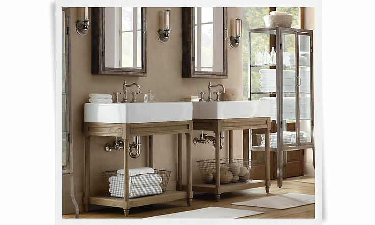 Rooms Restoration Hardware Home Ideas Bathrooms Pinterest
