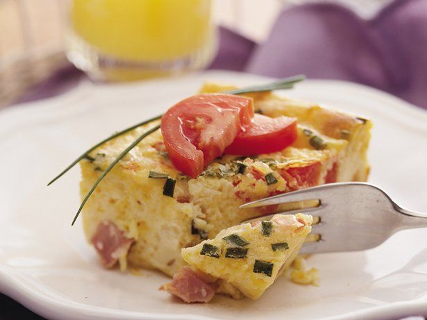 eggs with ham cheddar and chives recipe yummly eggs with ham cheddar ...