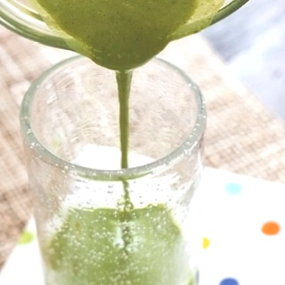 Skinny Green Monster Smoothie- skinnytaste.com- kids liked it!!!!