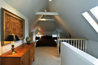 Pin by stacie ward on attic space remodel pinterest for Cape cod attic bedroom ideas
