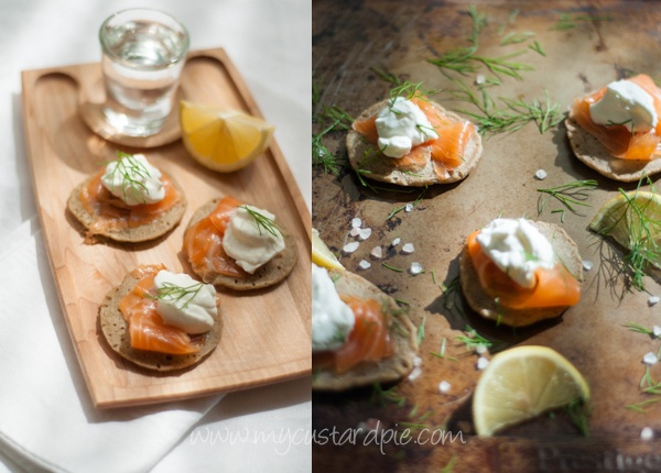 Smoked Salmon & Horseradish Mascarpone In Wonton Cups Recipe ...