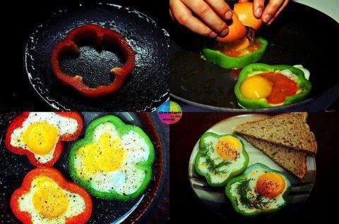 Pepper flowers | Kids snacks / foods | Pinterest