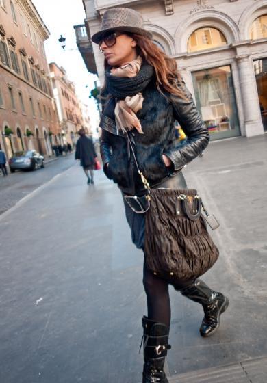 Rome Street Style Fashion Pinterest
