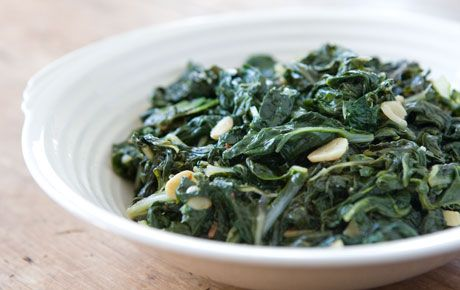 Sautéed Greens with Garlic | Recipe