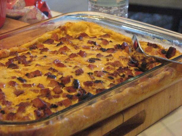 Christmas Breakfast Bacon Casserole | Recipe