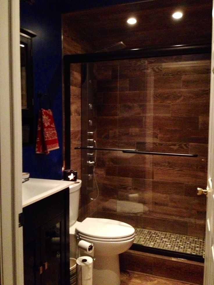 Small bathroom design basement bathroom pinterest for Bathroom designs basement