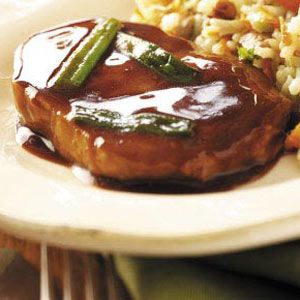 Hoisin-Glazed Pork   Recipe