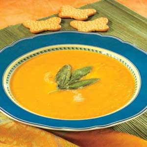 Butternut Squash Soup with Sage | Recipe